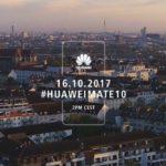 19975 A webcast of the presentation Huawei Mate 10 in Munich
