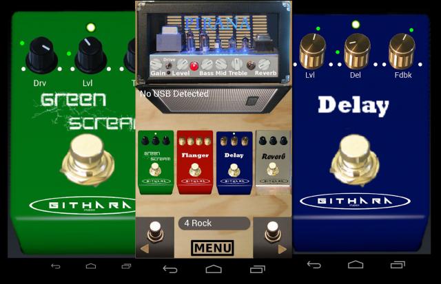 Лучшие Android-приложения для гитаристов - usbEffects (Guitar Effects)