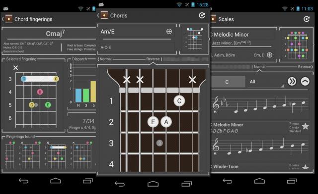 Лучшие Android-приложения для гитаристов - Chord!