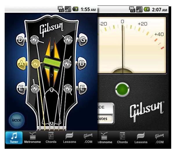 Лучшие Android-приложения для гитаристов - Gibson Learn & Master Guitar