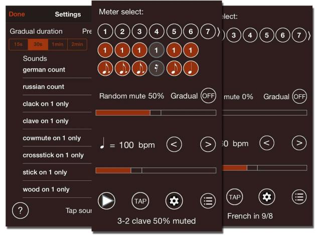 Лучшие Android-приложения для гитаристов - Time Guru Metronome