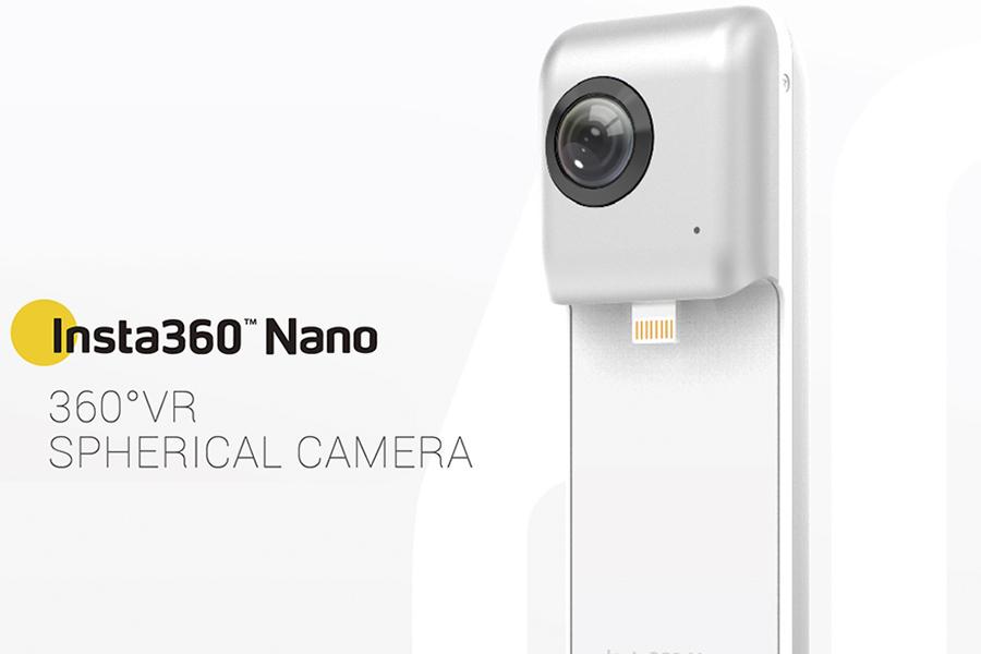 Экшн-камера Insta360 Nano