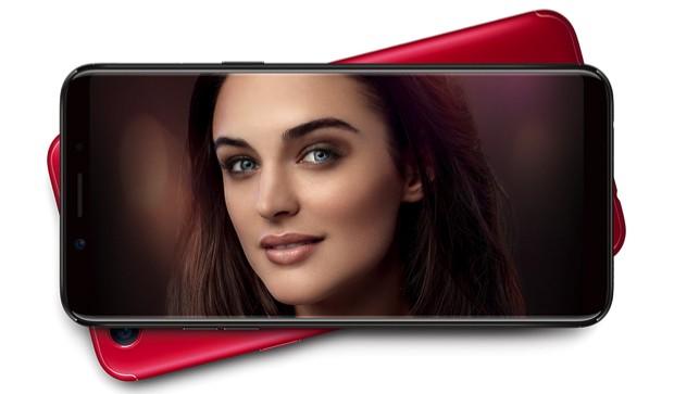 Frameless Oppo F5 officially presented