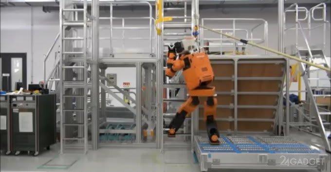Humanoid rescue robot, Honda E2 DR