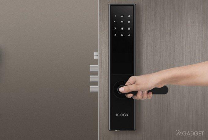 20230 Loock Classic — tricky door smart lock from Xiaomi (9 photos)