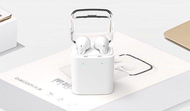 Ищем альтернативы беспроводным наушникам Apple AirPods - Dacom 7S X1