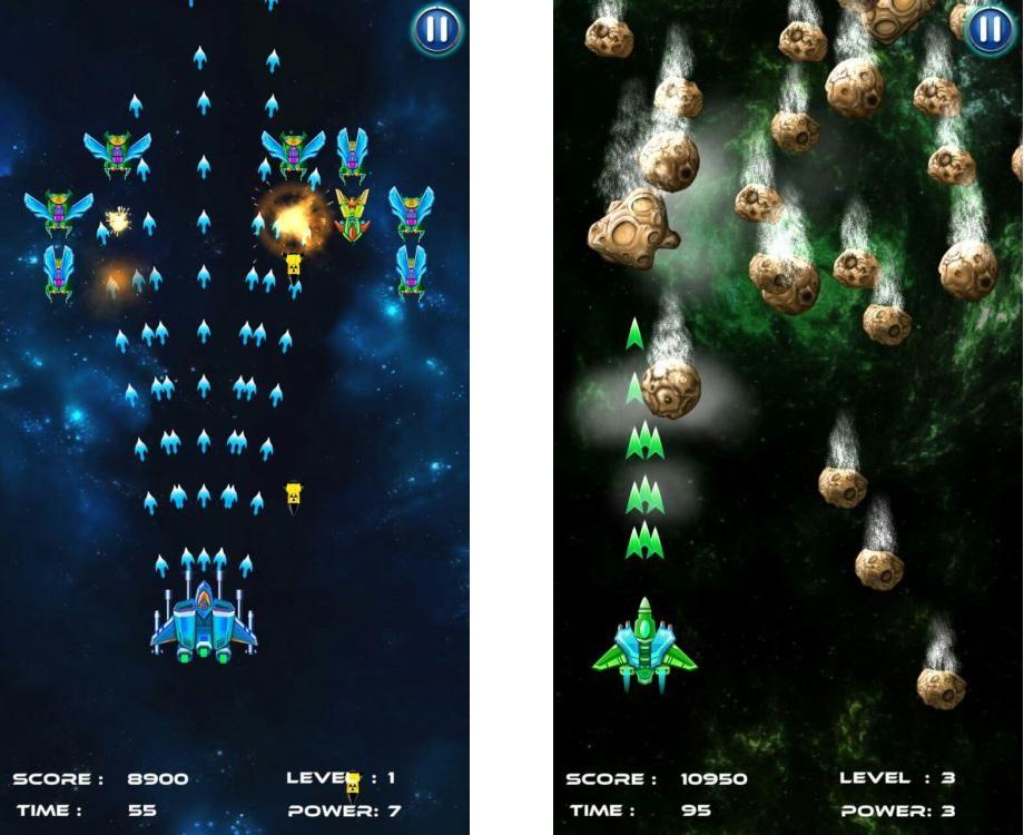 Топ-10 приложений для iOS и Android (16 - 22 октября) - Galaxy Attack. Alien Shooter (3)