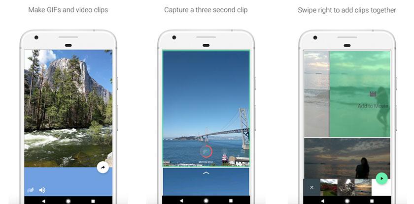 9 приложений, способных прокачать камеру вашего Android-смартфона - Motion Stills