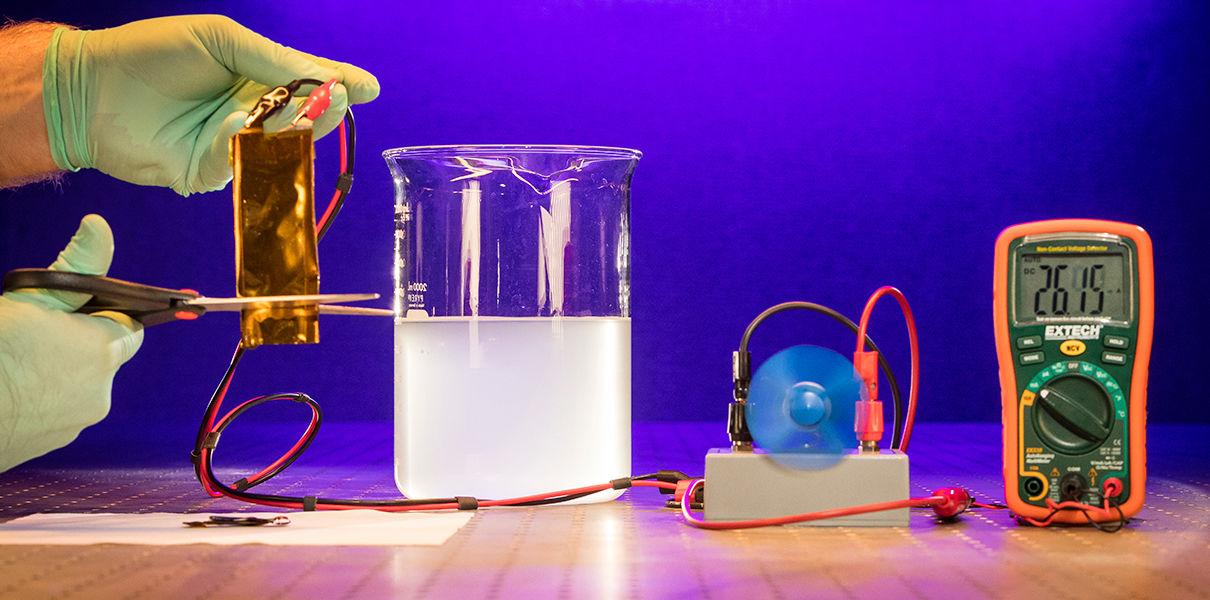 "Designed the ""immortal"" Li-ion battery"