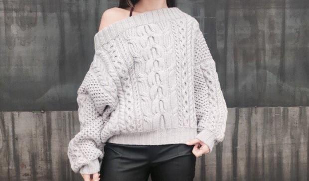 Счастье как тренд или Что такое жизнь в стиле хюгге – Объемный свитер