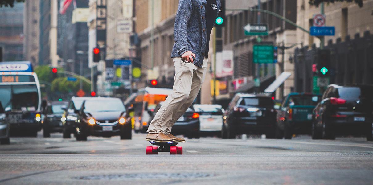 Inboard — Tesla in the world of electric skateboards