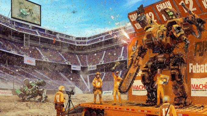 Megabots is raising money for a large-scale tournament robots-giants (video)