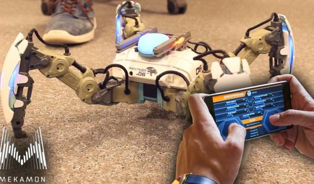 MekaMon - боевой робот под управлением смартфона