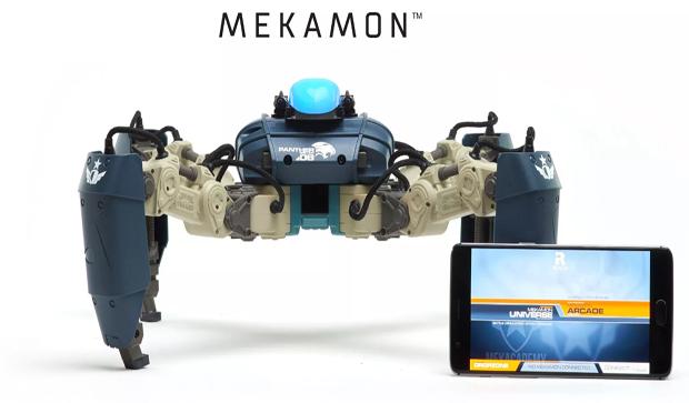 """MekaMon — """"combat"""" robot running smartphone"""
