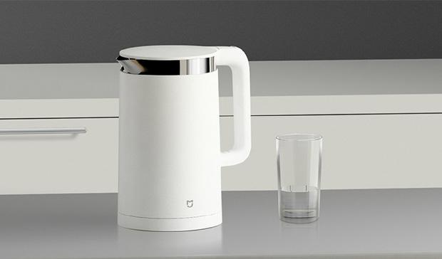 Обзор умного чайника Xiaomi Mijia Kettle – Внешний вид