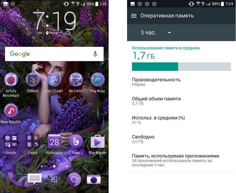 Обзор смартфона HTC U Ultra - программное обеспечение
