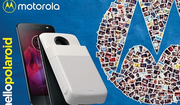 Polaroid Insta-Share Printer: … your Motorola smartphone can print photos!