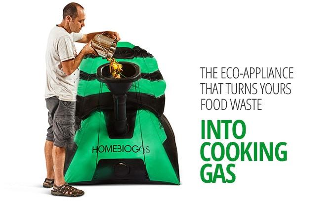 HomeBiogas 2.0 - установка для производства биогаза в домашних условиях - фото 1