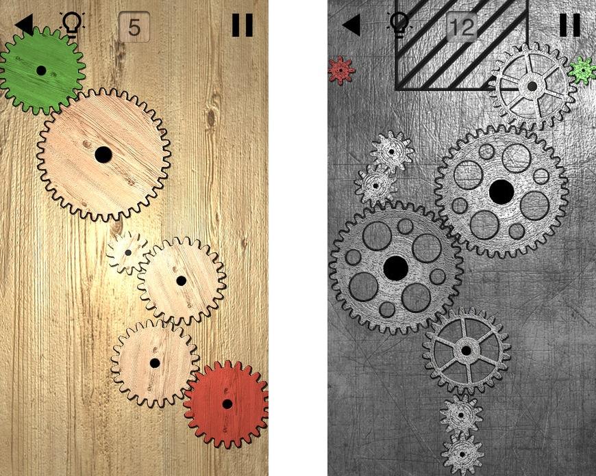 Топ-10 приложений для iOS и Android (13 - 19 ноября) - Шестеренки логические пазлы (3)