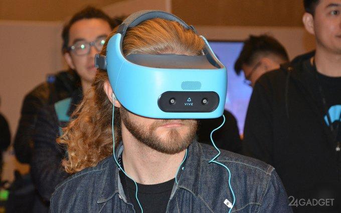 Vive Focus — unique VR-helmet from HTC (12 photos + video)