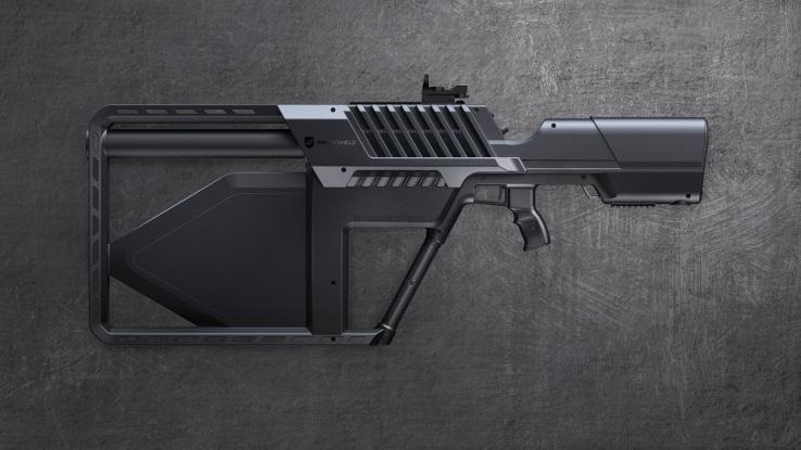 DroneGun Tactical is a portable (but still illegal) drone scrambler