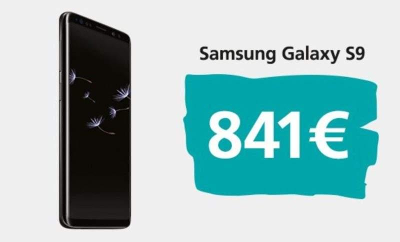 Samsung Galaxy S9 & Galaxy S9 Plus EU Prices Leak