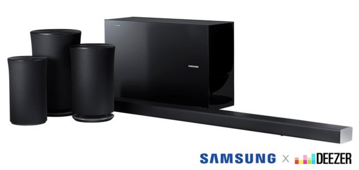 Samsung & Deezer Partner For Hi-Fi Audio On Speakers