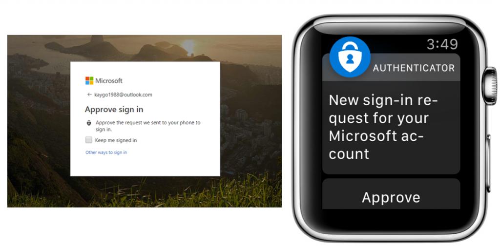 Microsoft Authenticator Apple Watch app now available via public preview