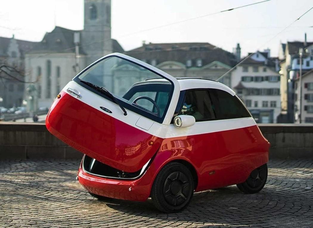 The Microlino makes 'adorable' an automotive trait