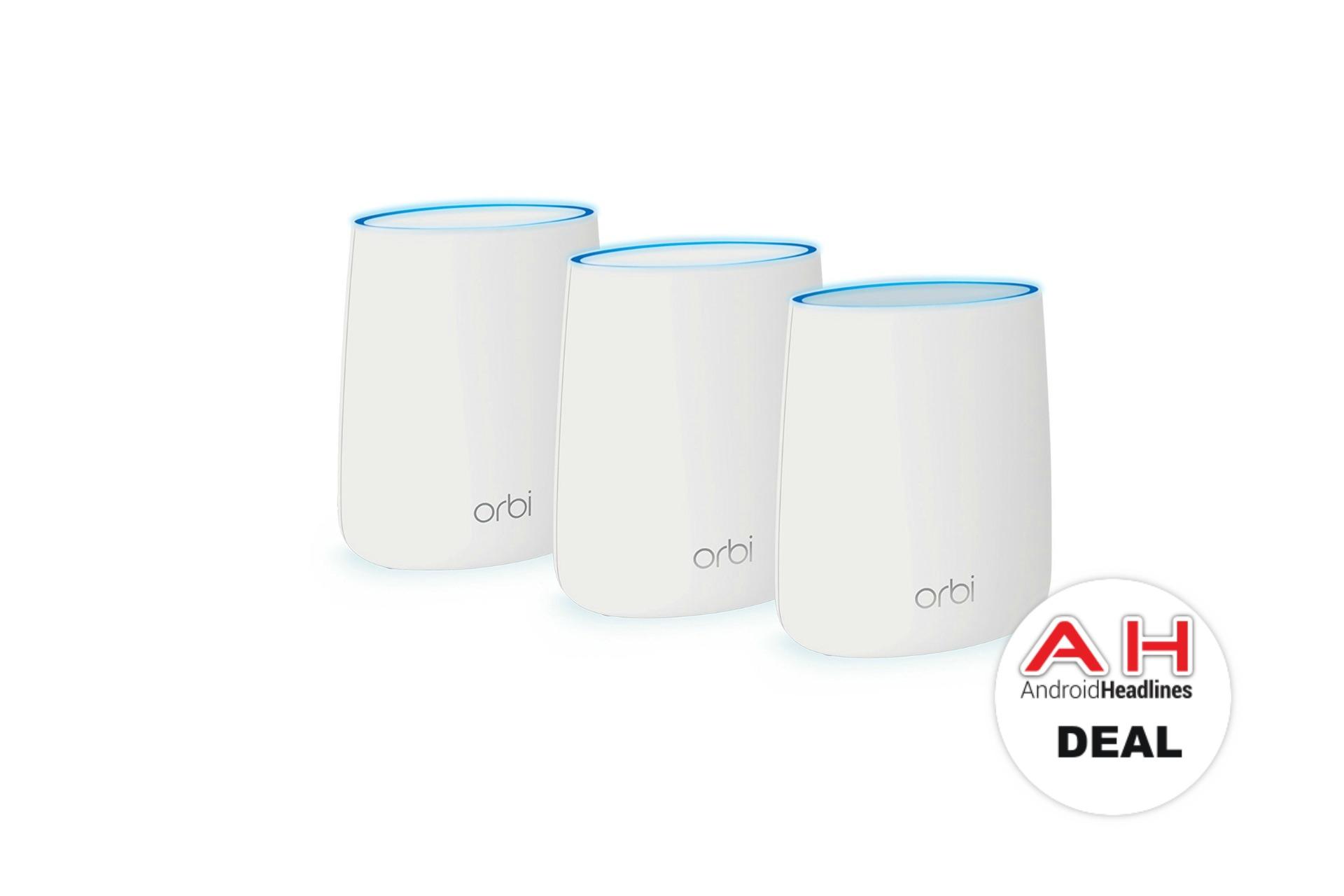 Deal: NETGEAR Orbi Home Mesh WiFi System (3-Pack) At Amazon For $249 – September 2018