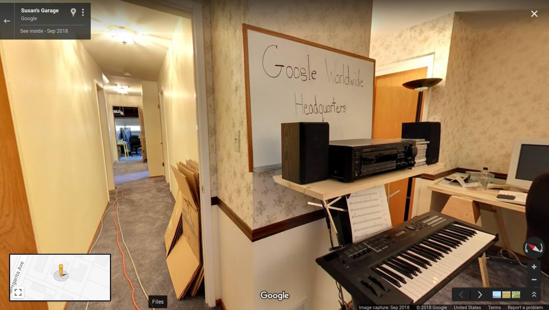 Google Recreates Original Garage Headquarters In Street View