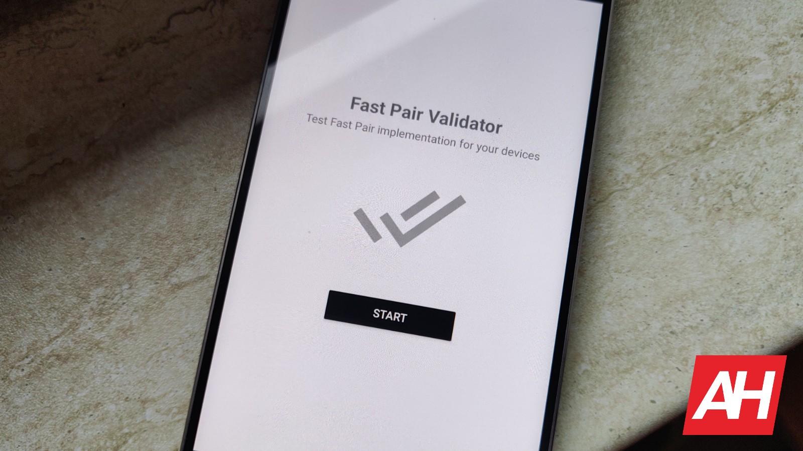 Google's 'Fast Pair Validator' App Hits The Play Store