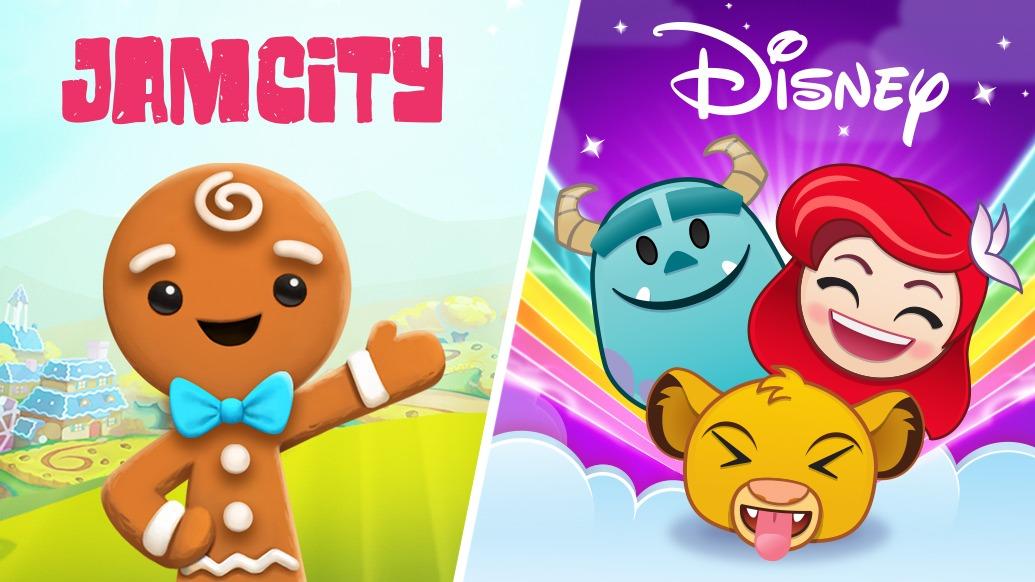 Jam City Partners With Disney & Takes Over Emoji Blitz