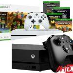 43334 Xbox One S Minecraft Bundle $199, Xbox One X Console $399 - Newegg Black Friday 2018 Deals