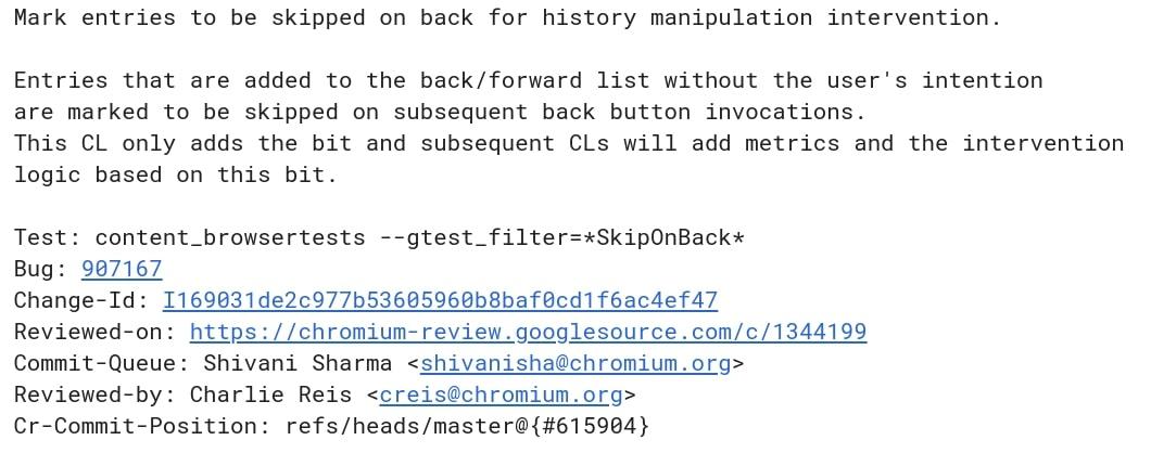 Google Cracking Down On Chrome 'History Manipulation'
