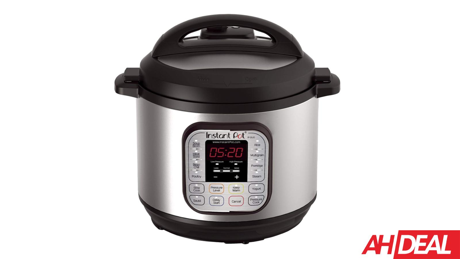 Instant Pot DUO60 6 Qt Pressure Cooker $69 – Amazon's 12 Days of Deals 2018
