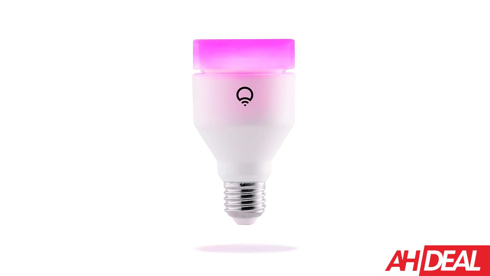 LIFX (A19) WiFi Smart Light Bulbs $45 – Amazon 12 Days of Deals 2018