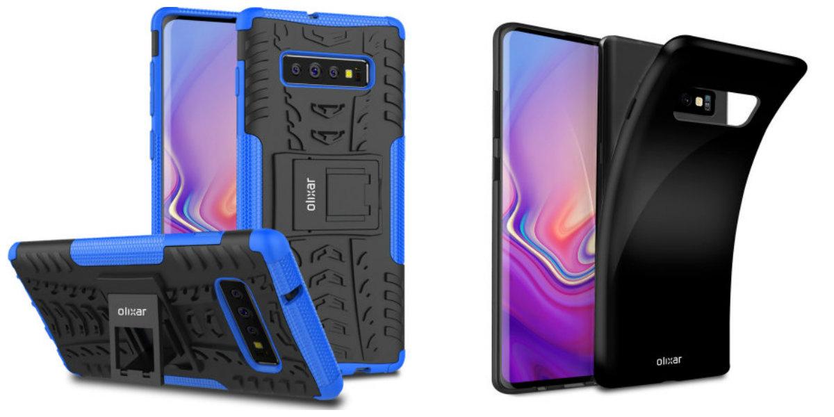 Olixar's Case Renders Reveal Galaxy S10's Triple Camera Setup