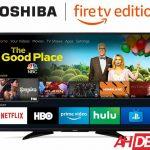 44124 Toshiba 55-inch 4K Fire TV $399 - Amazon Cyber Week 2018 Deals