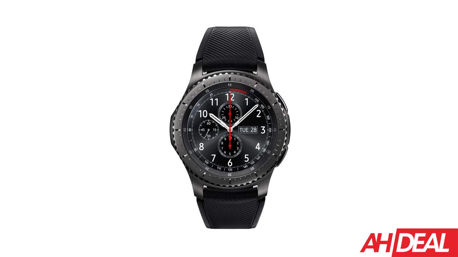 Samsung's Popular Gear S3 Frontier Smartwatch Has Dropped Below $200 – Amazon Deals