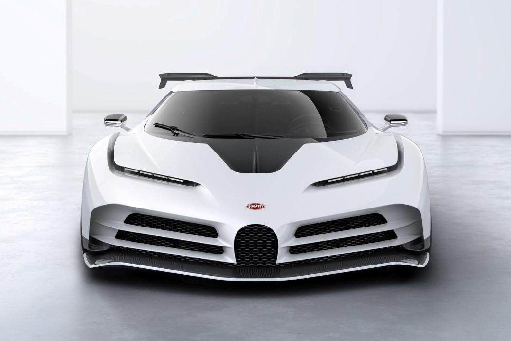 56810 The Bugatti Centodieci is a bold step away from Bugatti's design DNA