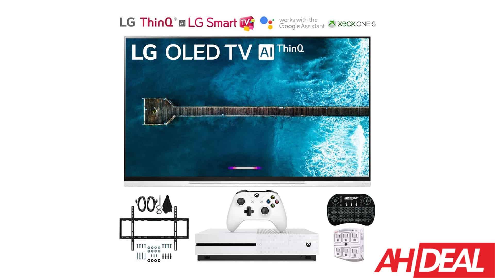 58929 LG 4K Smart TV & Xbox One S Bundle For $1,997 – Amazon Black Friday 2019 Deals