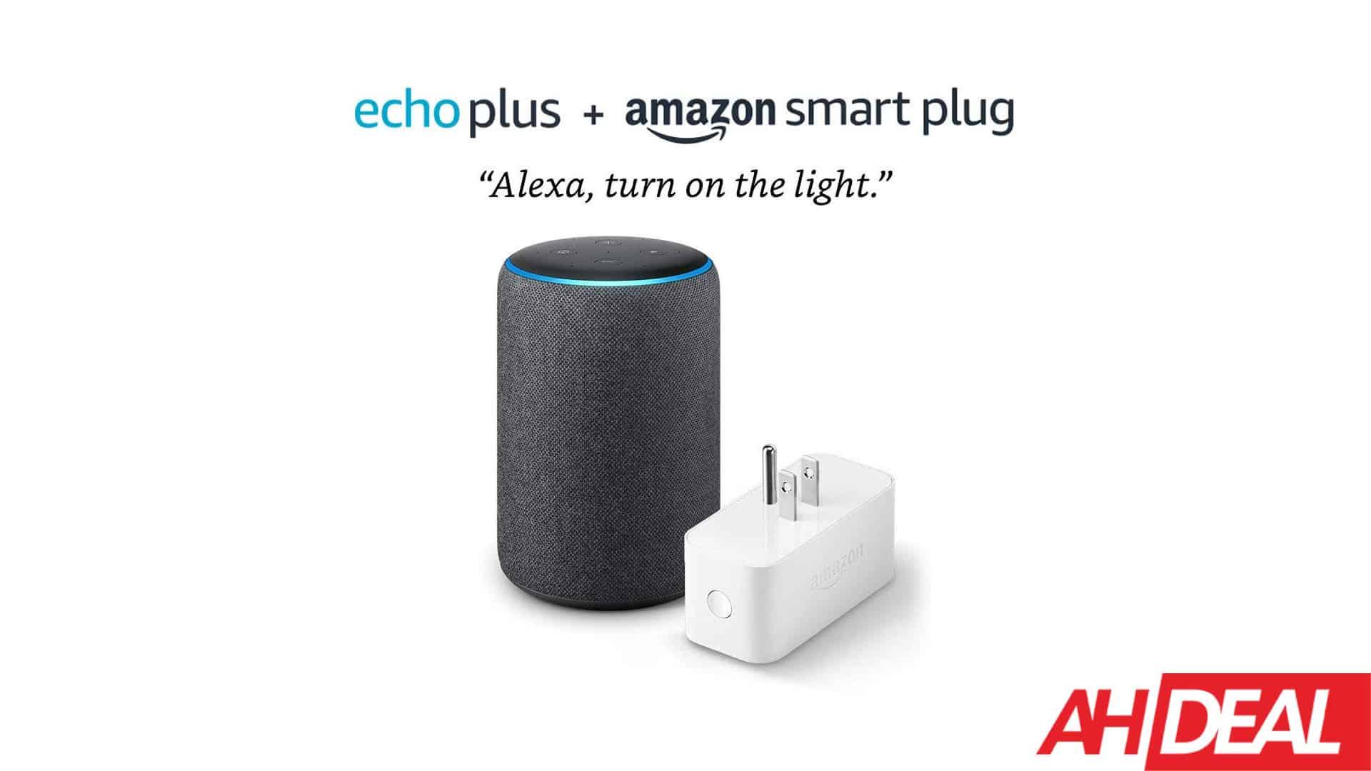58977 Amazon Echo Plus & Smart Plug For $105 – Amazon Cyber Monday 2019 Deals